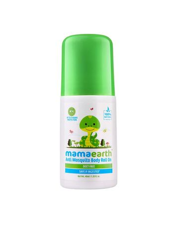 Mothercare   Mamaearth Natural Anti Mosquito Body Roll On 40Ml