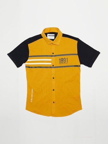 OCTAVE   Boys MUSTARD Casual Shirts
