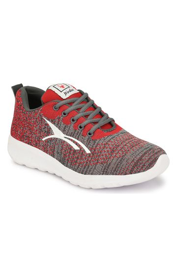 Hirolas | Hirolas feather Sports Shoes - Grey/Red