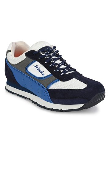 Hirolas | Hirolas Men's Leather Multicolors Running/Walking/Gym Sports Jogger Shoes