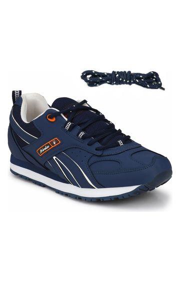 Hirolas | Hirolas Multi Sport Shock Absorbing Walking  Running Fitness Athletic Training Gym Sneaker Shoes - Blue