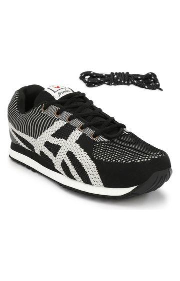 Hirolas | Hirolas Royal Multi Sport Shock Absorbing Walking  Running Fitness Athletic Training Gym Flyknit Sneaker Shoes - Black/Grey