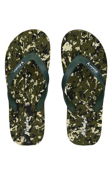 Hirolas   Hirolas Thong Flip-Flops - camouflage