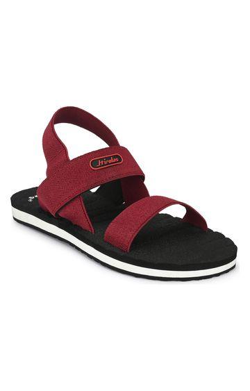 Hirolas | Hirolas Trendy Fabrication Flip-Flops Elasticated comfortable Slippers - Maroon