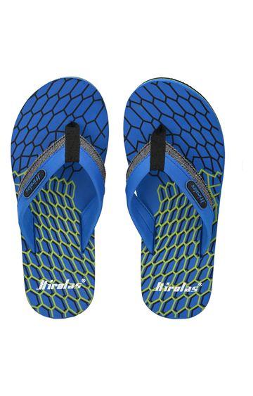 Hirolas | Hirolas Fabrication Flip-Flop Slippers - Blue