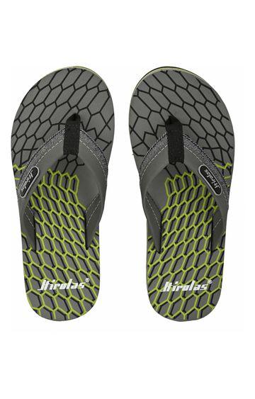 Hirolas   Hirolas Fabrication Flip-Flop Slippers - Grey