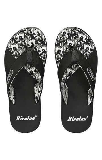 Hirolas   Hirolas Fabrication Flip-Flop Slippers - Black
