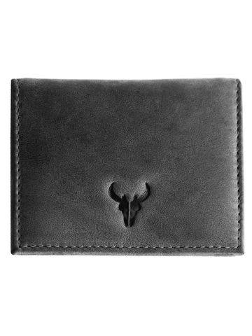 Napa Hide | Napa Hide RFID Protected Genuine High Quality Leather Grey Wallet for Men