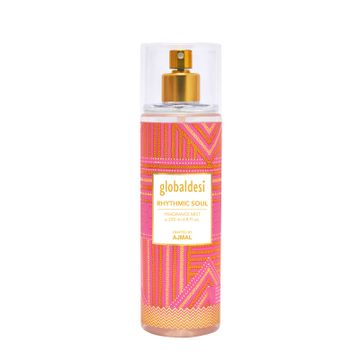 GD Crafted By Ajmal | Global Desi Rhythmic Soul Body Mist 200ML for Women Crafted by Ajmal