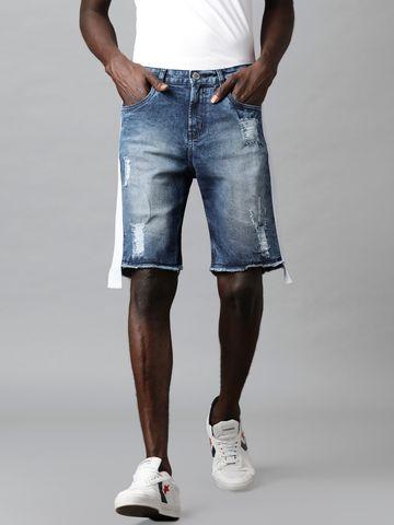 Blue Saint   Blue Saint Men's Blue Shorts
