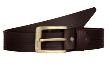 SCHARF | SCHARF JACK Premium Genuine Leather Waist  Mens Belt