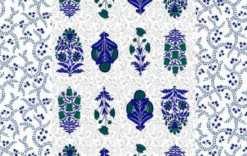 Pinkblock.in | Iris Cotton Double Bedsheet