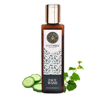LUXURIATE | LUXURIATE Cucumber Herbal Cleansing Face Wash for Men and Women,100 ml