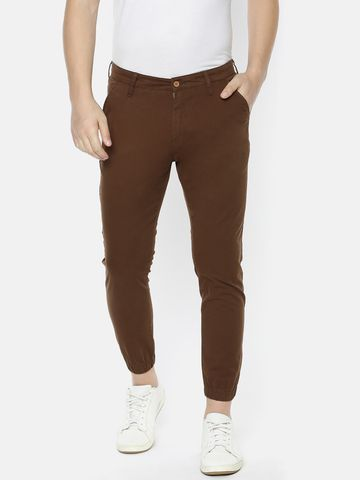 Mucho Solo | MuchoSolo Men Casual Cotton Solid Joggers