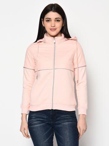 METTLE | Women DUSTY PINK Sweatshirts