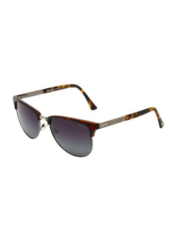 ENRICO | ENRICO Solflare UV Protected Wayfarer Sunglasses for Women ( Lens - Purple | Frame - Brown)
