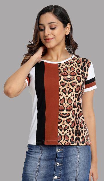Juneberry | Juneberry Printed T-shirt For Women