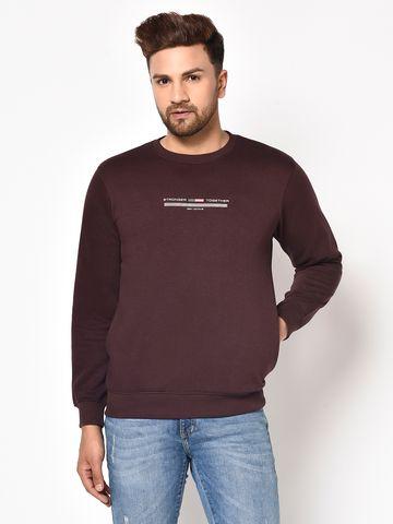 OCTAVE | Men WINE Sweatshirts