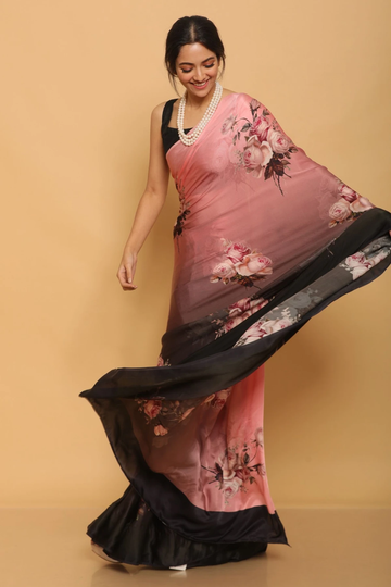 SATIMA | Satima Satin printed saree