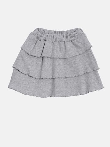 Kryptic | Kryptic Girls 100% Cotton skirt with ruffles