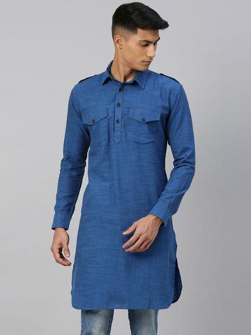 Kryptic | Kryptic Mens 100% Cotton pathani kurta