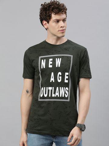Kryptic   Kryptic Men's Kryptic Mens 100% cotton printed roundneck Tshirt