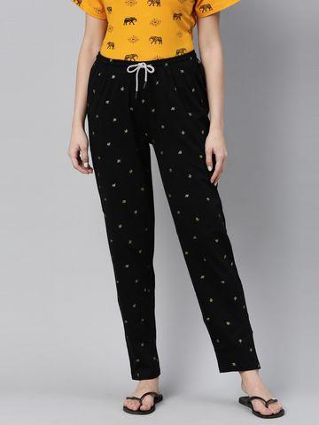 Kryptic | Kryptic Womens 100% Cotton printed pyjama