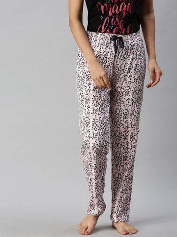 Kryptic | Kryptic Womens 100% Cotton printed lounge pant
