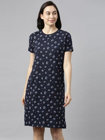 Kryptic | Kryptic womens 100% Cotton printed dress