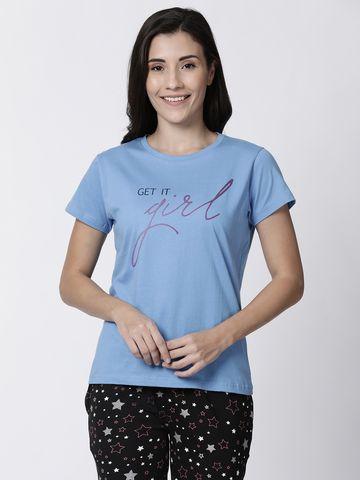 Kryptic | Kryptic womens typography printed tshirt