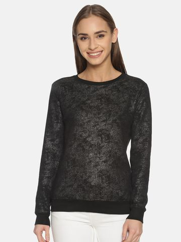 Kryptic | Kryptic Womens 100% Cotton printed sweatshirt