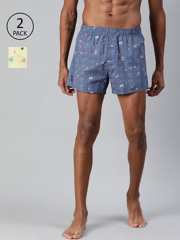 The Bear House   Printed Boxers Shorts