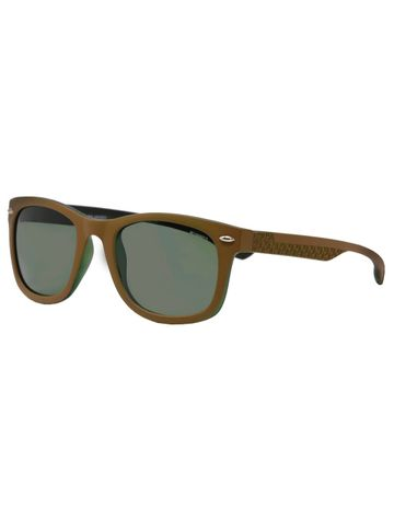 ENRICO | ENRICO Nudo UV Protected Wayfarer Sunglasses for Men ( Lens - Green | Frame - Brown)