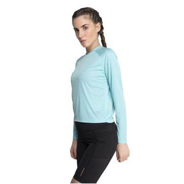 SilverTraq | Aero Long Sleeve Tee Pale Turquoise