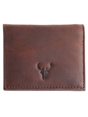 Napa Hide | Napa Hide RFID Protected Genuine High Quality Leather Brown Wallet for Men