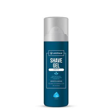 LetsShave | LetsShave Sensitive Shave Gel for Men - 200 ml