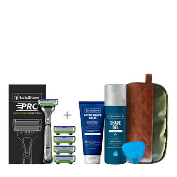 LetsShave | LetsShave Pro 6 Sensitive Premium Value Kit for Men