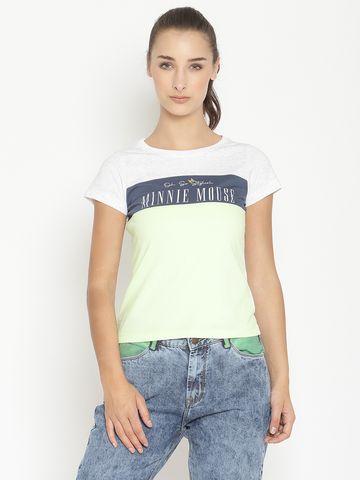 METTLE   Women NEON GREEN T-Shirts
