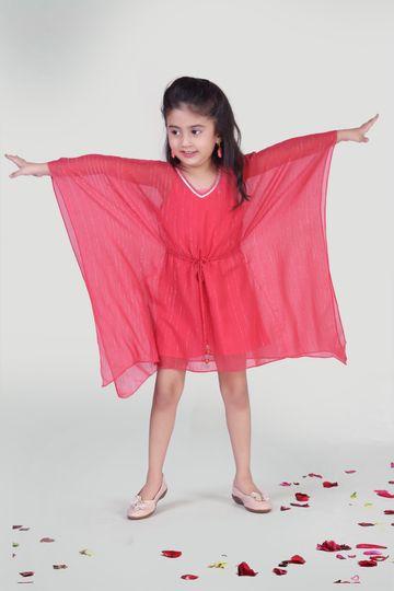 MINI CHIC   Coral Kaftan for Kids