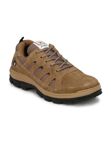 Hirolas | Hirolas Multisport Leather outdoor Shoes- Camel