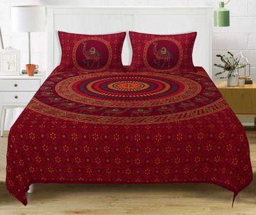 Pinkblock.in | Mandla Cotton Double Bedsheet