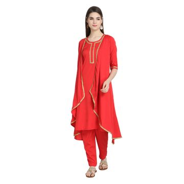 LABEL KARA | Pathani Ethnic Kurta Palazzo Set