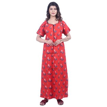 Pinkblock.in | Trendy Cotton Nighty Dresses