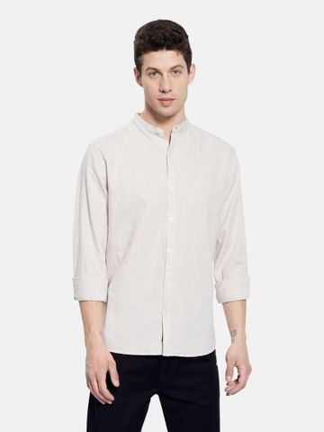 METTLE | Men NATURAL Casual Shirts