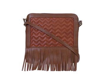 DIWAAH | Diwaah Brown Color Casual Sling Bag