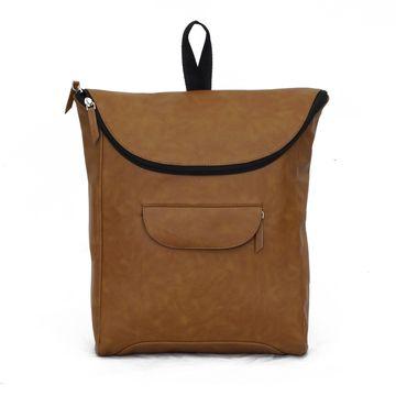 DIWAAH | Diwaah Brown Color Casual Backpack