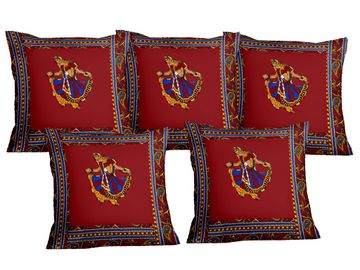 Pinkblock.in   Patchwork Cushion Covers Set of 5