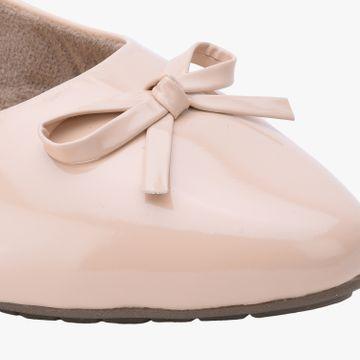 SALARIO | Salario Almond-Toe Ballerinas with Bow Accent