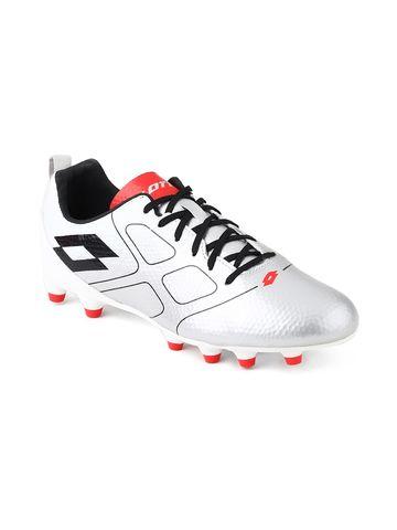 Lotto   Lotto Maestro 700 FG L Slv Mt/Blk Football Shoes