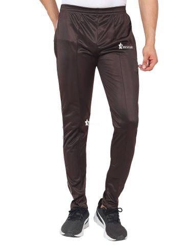 Picstar | PICSTAR Solid Men Brown Track Pants